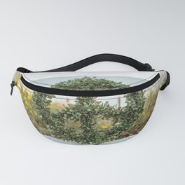Peace and love nature wreath Fanny Pack