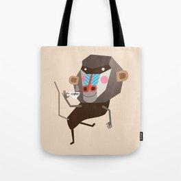 Baboon & Coffee Tote Bag