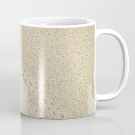 Bicycle tracks imprint Coffee Mug