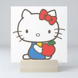 cute kitty Mini Art Print