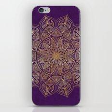 Gold Mandala iPhone & iPod Skin