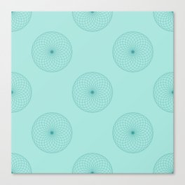 Centered in Sage Canvas Print