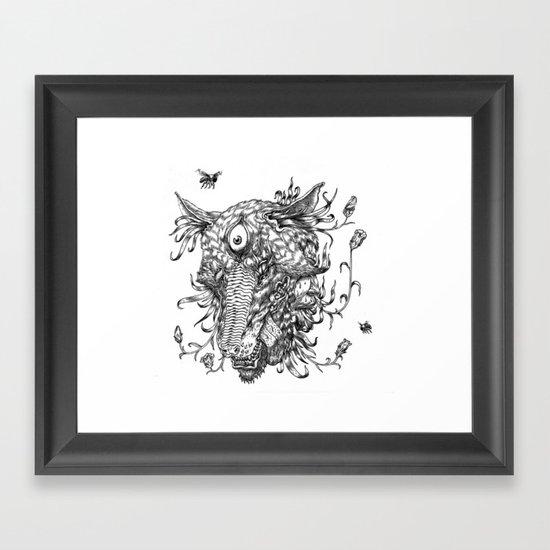 Cycle 1 Framed Art Print