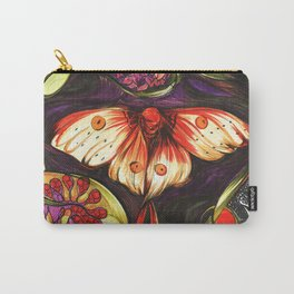Moon Flower Moth Carry-All Pouch