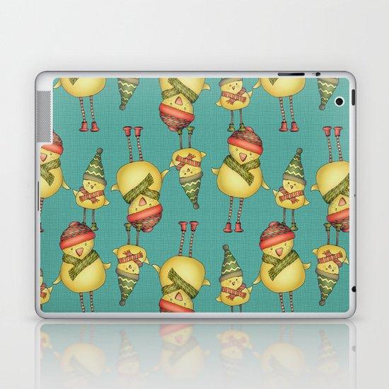 Two Chicks Pattern Laptop & iPad Skin