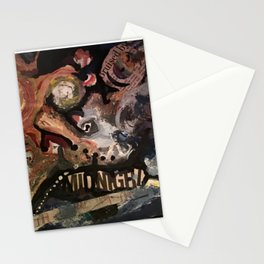 Bruised by Midnight Stationery Cards