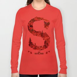 S is for Scotland Long Sleeve T-shirt