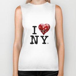 Banksy * I Love New York Biker Tank