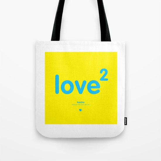 Squared love Tote Bag