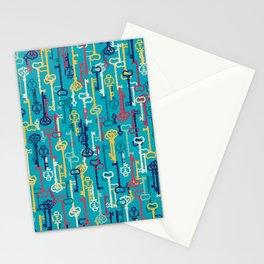 Fairy keys Stationery Cards
