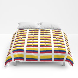 Flag of Colombia 2 -Colombian,Bogota,Medellin,Marquez,america,south america,tropical,latine america Comforters