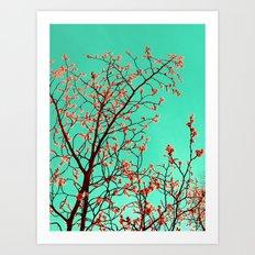 spring tree XXI Art Print