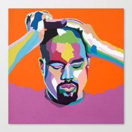 Mood...Kanye Canvas Print