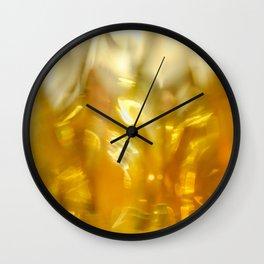 Viscous Honey Wall Clock