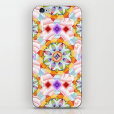 Beaux Arts Pink Waves iPhone & iPod Skin
