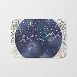 Beautiful starry night Bath Mat