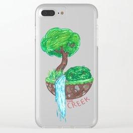 Mystical Island Clear iPhone Case