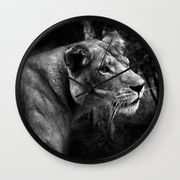 A King only bows down to a Queen Wall Clock