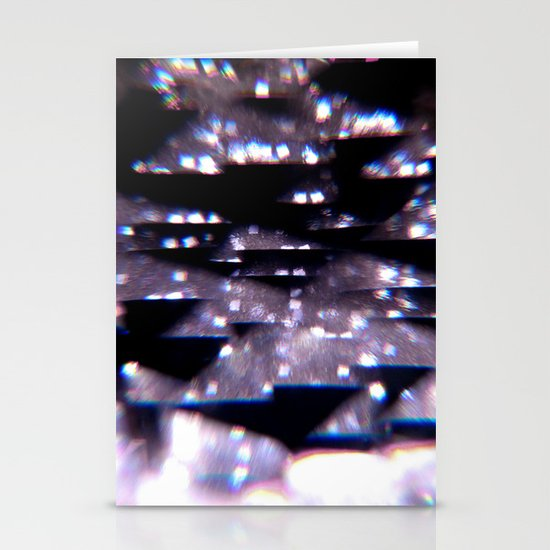 Diffraction Stationery Cards
