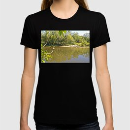 Enjoy the tranquil river T-shirt