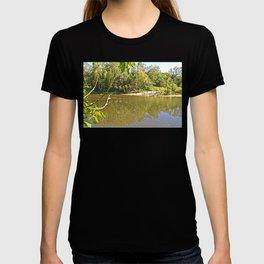 Enjoy the tranquil river T-shirt