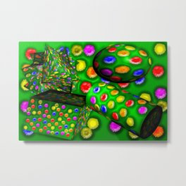 Colorful toys ... Metal Print