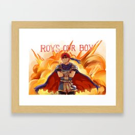 ROY'S OUR BOY Framed Art Print