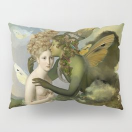 """""""The body, the soul and the garden of love"""" Pillow Sham"""