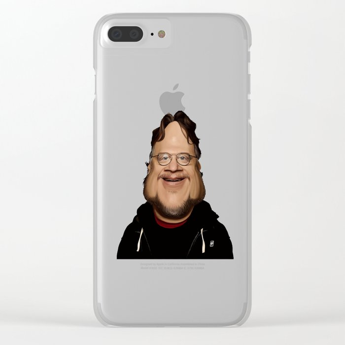 Guillermo Del Toro Clear iPhone Case