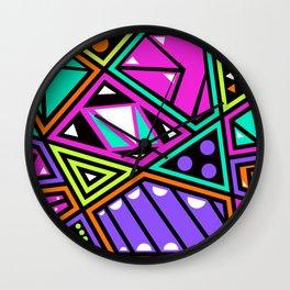 Crazy 80s Wall Clock