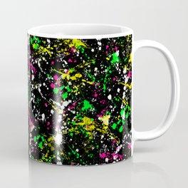 paint drop design - abstract spray paint drops 3 Coffee Mug