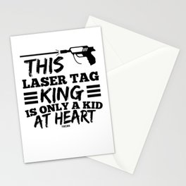 best laser tag gamers Stationery Cards