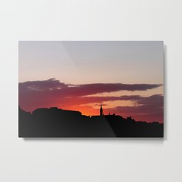 Sunset  - JUSTART © Metal Print