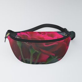 Red Rose Pollination Fanny Pack