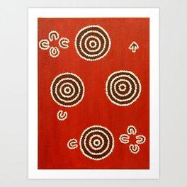 Aboriginal Art Art Print