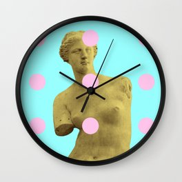 Venus Di Bubblelo Wall Clock