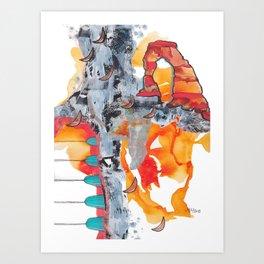 Utah Abstract Art Print