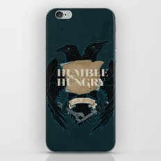 Humble and Hungry iPhone & iPod Skin