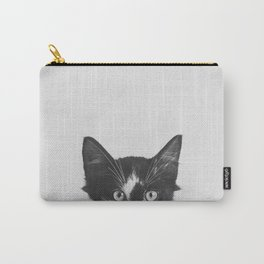 Spies : Cat Black & White Carry-All Pouch