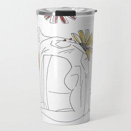 Flowering Cambelback Travel Mug