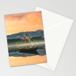 Golden Getaway Stationery Cards