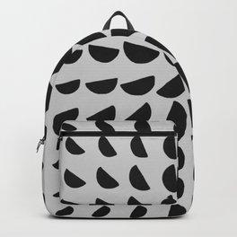 Half Moon Pattern Backpack