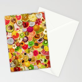 Fruit Madness (All The Fruits) Stationery Cards