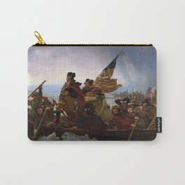 Washington Crossing the Delaware Painting Carry-All Pouch