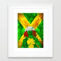 rogue Framed Art Prints featuring Rogue by Some_Designs