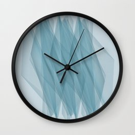 Twisted Lines Wall Clock
