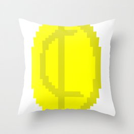 One Cent Coin Throw Pillow
