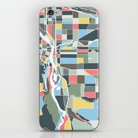 portland iPhone & iPod Skins featuring Portland. by Studio Tesouro