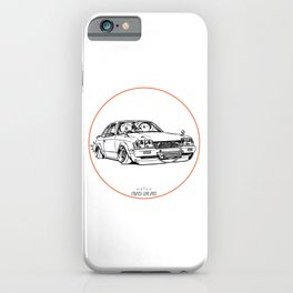 Crazy Car Art 0208 iPhone Case