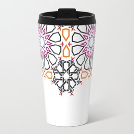 Moroccan Mosaic Colorful 2 Travel Mug